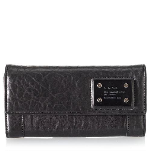 L.A.M.B. Trademark Clutch Wallet