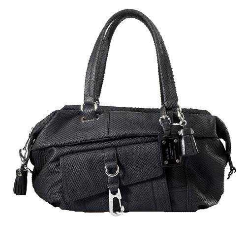 L.A.M.B. Wright Swag Satchel Handbag
