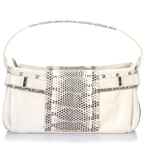 Lambertson Truex Basque Snakeskin Mariella Evening Handbag