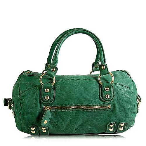 Linea Pelle Dylan Speedy Large Satchel Handbag