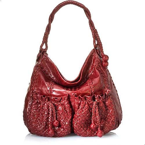 Lockheart Jenna Leather Handbag