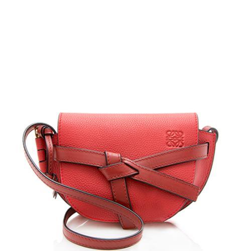 Loewe Grained Calfskin Mini Gate Crossbody Bag