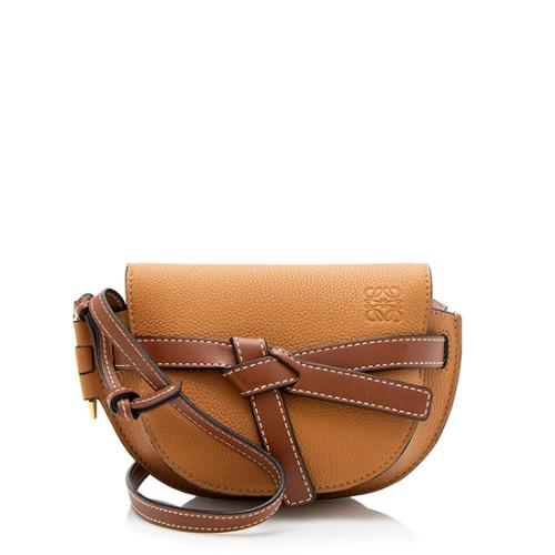 Loewe Grained Calfskin Mini Gate Crossbody Bag