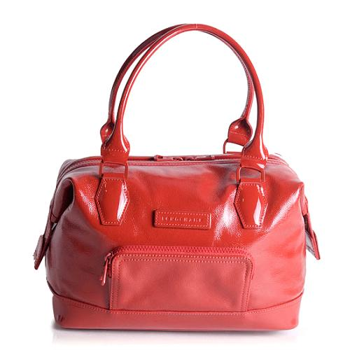Longchamp Legende Small Patent Leather Tote