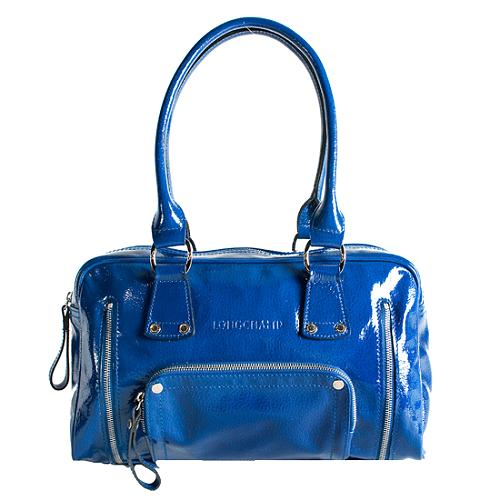 Longchamp Rodeo 4x4 Mini Patent Rival Satchel Handbag
