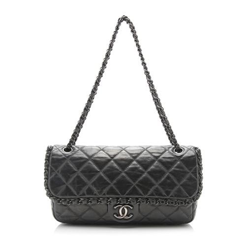 3819930c66bd Chanel-Lambskin-Chain-Me-Medium-Flap-Shoulder-Bag 93738 front large 0.jpg
