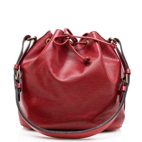 Louis Vuiton Vintage Epi Leather Petit Noe Shoulder Bag