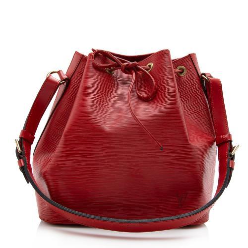 Louis Vuiton Vintage Epi Leather Petit Noe Shoulder Bag