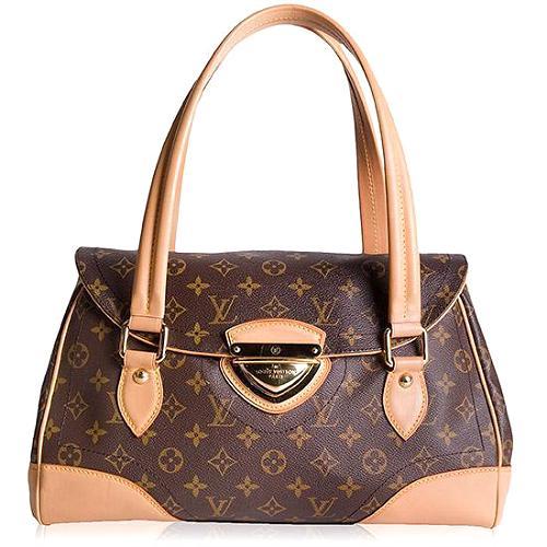 Louis Vuitton Beverly GM Monogram Satchel Handbag