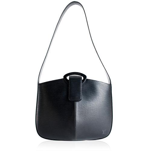 Louis Vuitton Black Epi Leather Revuri Shoulder Bag