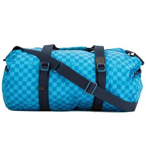 Louis Vuitton Nylon Damier Graphite Adventure Practical Duffel Bag