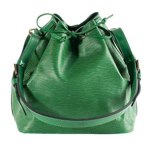 a1715c67bd72 Louis-Vuitton-Borneo-Green-Epi-Leather-Petit-Noe -Handbag 45624 front large 1.jpg