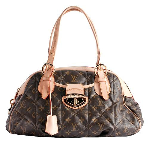 Louis Vuitton Bowling Monogram Etoile Satchel Handbag