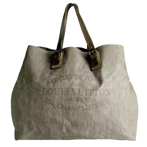 Louis Vuitton Cabas Denim XL Tote