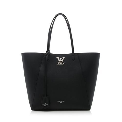 Louis Vuitton Calfskin Lockme Cabas Tote