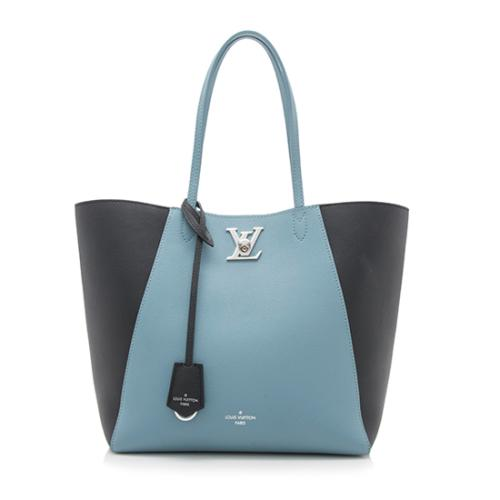 Louis Vuitton Calfskin Lockme Cabas Tote