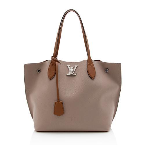 Louis Vuitton Calfskin Lockme Go Tote