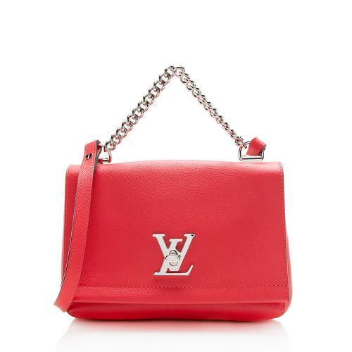 Louis Vuitton Calfskin Lockme II BB Shoulder Bag