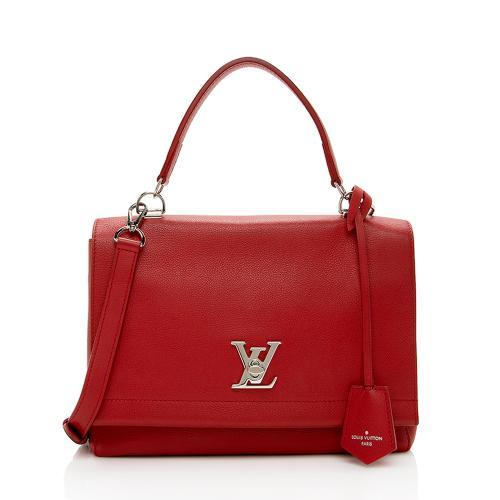 Louis Vuitton Calfskin Lockme II Satchel
