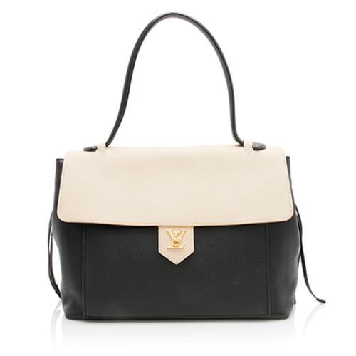 Louis Vuitton Calfskin Lockme MM Satchel