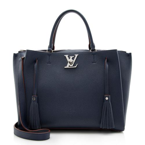 Louis Vuitton Calfskin Lockmeto Tote