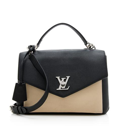 Louis Vuitton Calfskin Mylockme Shoulder Bag