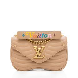 Louis Vuitton Calfskin New Wave Chain MM Shoulder Bag