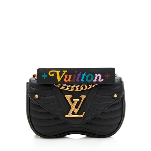 Louis Vuitton Calfskin New Wave Chain PM Shoulder Bag