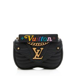 Louis Vuitton Calfskin New Wave Chain PM Shoulder Bag