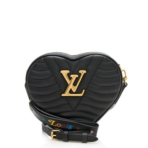 Louis Vuitton Calfskin New Wave Heart Shoulder Bag