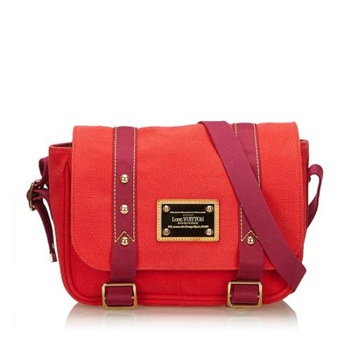Louis Vuitton Canvas Antigua Besace Messenger Bag