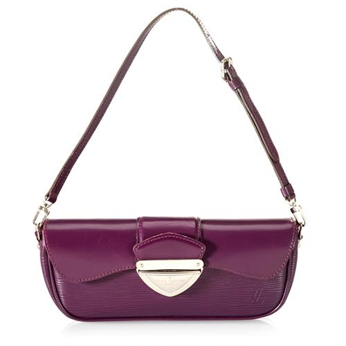 Louis Vuitton Cassis Epi Leather Montaigne Clutch