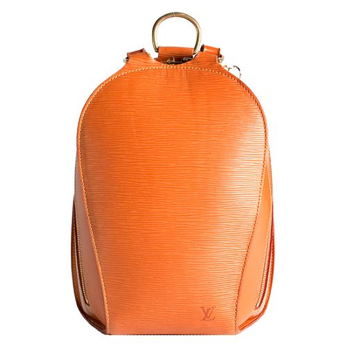 Louis Vuitton Cipango Gold Epi Leather Mabillon Backpack