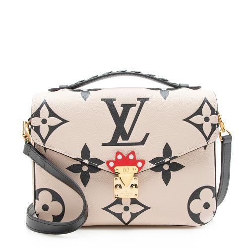 Louis Vuitton Leather Crafty Pochette Metis Shoulder Bag