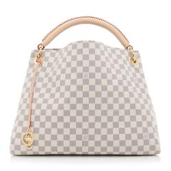 Louis Vuitton Damier Azur Artsy MM Shoulder Bag