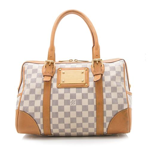 Louis Vuitton Damier Azur Berkeley Satchel