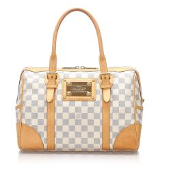 Louis Vuitton Damier Azur Berkeley Satchel