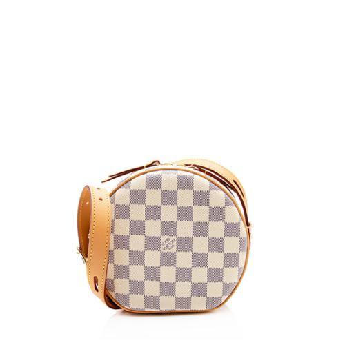 Louis Vuitton Damier Azur Boite Chapeau Souple PM Shoulder Bag
