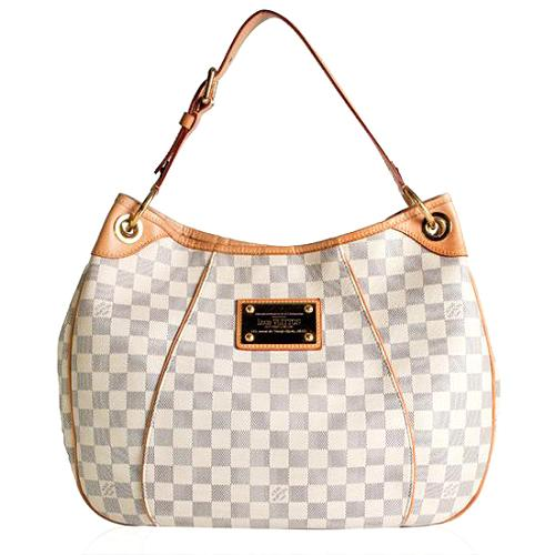 Louis Vuitton Damier Azur Canvas Galliera PM Shoulder Handbag