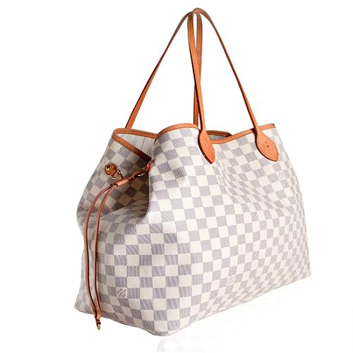 Louis-Vuitton-Damier-Azur-Canvas-Neverfull-GM -Tote--FINAL-SALE 33094 left angle large 1.jpg e966f1a4dcc6e