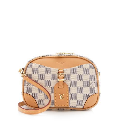 Louis Vuitton Damier Azur Deauville Mini Shoulder Bag