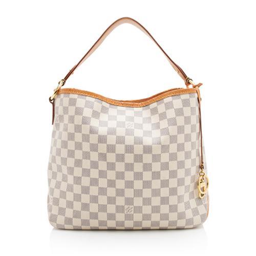 Louis Vuitton Damier Azur Delightful PM Shoulder Bag