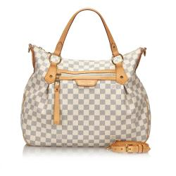 Louis Vuitton Damier Azur Evora MM Tote