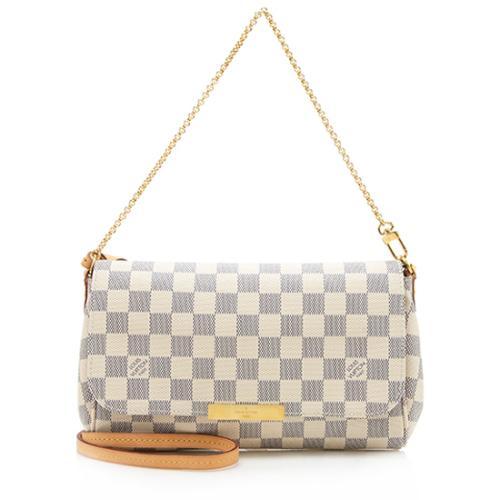 Louis Vuitton Damier Azur Favorite MM Shoulder Bag