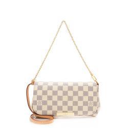 Louis Vuitton Damier Azur Favorite PM Shoulder Bag