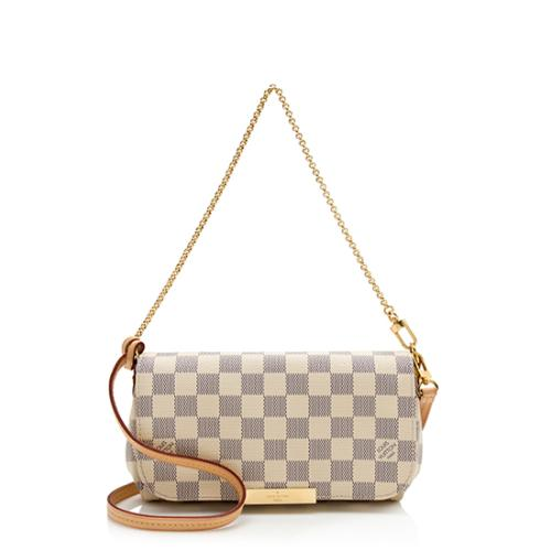 Louis Vuitton Damier Azur Favorite PM Shoulder Bag