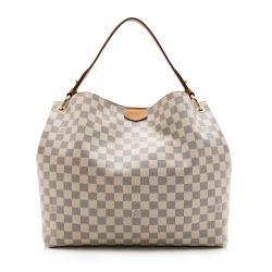 Louis Vuitton Damier Azur Graceful MM Hobo
