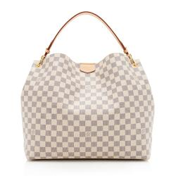 Louis Vuitton Damier Azur Graceful MM Shoulder Bag