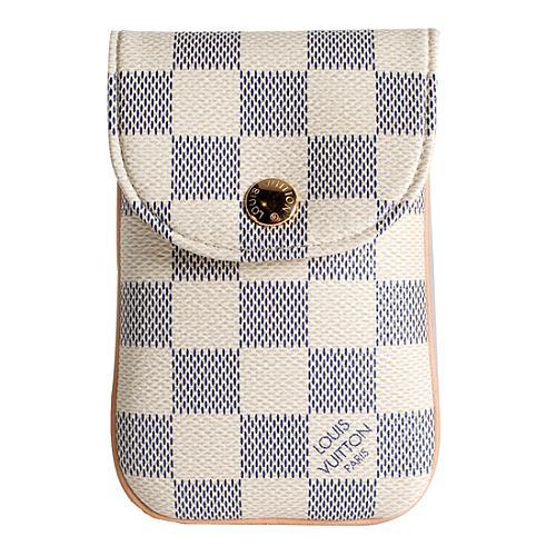Louis Vuitton Damier Azur Mobile Phone Case