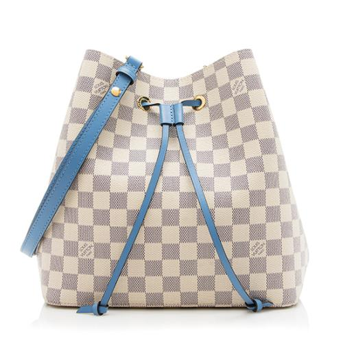 Louis Vuitton Damier Azur Neonoe Shoulder Bag
